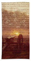 Dawn At Gettysburg Bath Towel