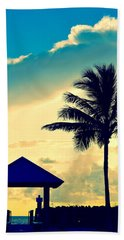 Dawn Beach Pyramid Bath Towel