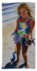 Day At The Beach Hand Towel