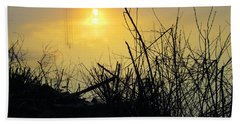 Hand Towel featuring the photograph Daybreak by Robyn King