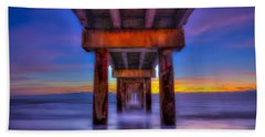 Daybreak At The Pier Bath Towel