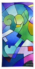 Daydream Canvas One Hand Towel