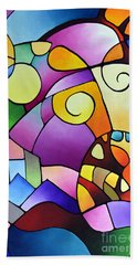 Daydream Canvas Two Hand Towel