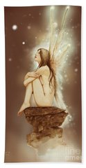 Daydreaming Faerie Hand Towel