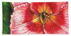 Daylily Delight Bath Towel