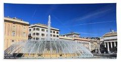 De Ferrari Square - Genova Bath Towel