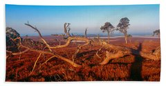 Dead Trees, Southern Uplands Bath Towel