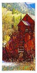 Deadhorse Mill Hand Towel by Dan Miller