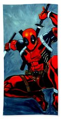 Deadpool Hand Towel
