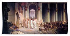 Death Of Caesar Hand Towel