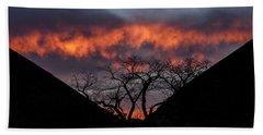 Death Valley Sunset Bath Towel