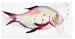 Decorative Fish Bath Towel