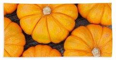 Decorative Pumpkins  Hand Towel