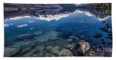Deep Freeze Hand Towel by Aaron Aldrich