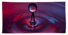 Deep Purple Bath Towel by Anthony Sacco