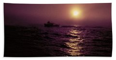 Deep Sea Fishing Off West Port Wa II Hand Towel