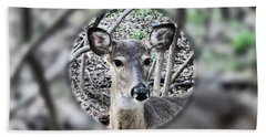Deer Hunter's View Hand Towel