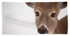 Deer Talk Bath Towel