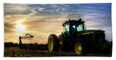 Deere Sunset Hand Towel
