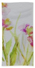 Delicate Blossoms Hand Towel