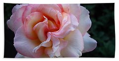 Hand Towel featuring the photograph Delicate Pink by Joyce Dickens