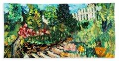 Delphi Garden Hand Towel