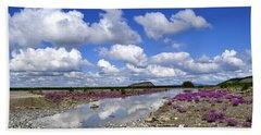 Bath Towel featuring the photograph Delta Junction Summer by Cathy Mahnke