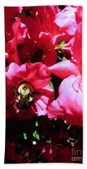 Bath Towel featuring the photograph Delving Into Sweetness by Robyn King