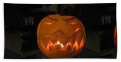 Demented Mister Ullman Pumpkin 2 Hand Towel