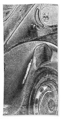 Bath Towel featuring the photograph Dented Ego by Jean OKeeffe Macro Abundance Art