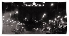 Denver Union Station Square Image Bath Towel