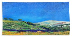 Derbyshire Landscape, 1999 Oil On Board Hand Towel