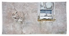 Hand Towel featuring the photograph Derelict Window by Tom Gowanlock