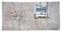 Derelict Window Bath Towel