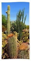 Desert Cacti Bath Towel
