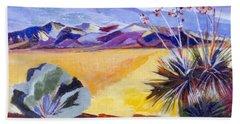 Desert And Mountains Bath Towel