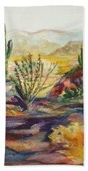 Desert Color Hand Towel