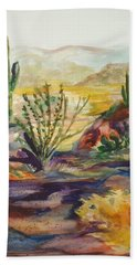 Desert Color Bath Towel