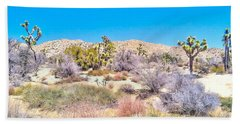 Hand Towel featuring the photograph Desert Spring by Angela J Wright