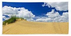 Desert Landscape In Manitoba Hand Towel