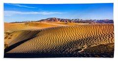 Desert Lines Hand Towel
