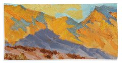 Desert Morning La Quinta Cove Bath Towel
