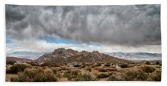Desert Rain Storm Hand Towel