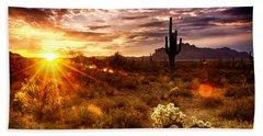 Desert Sunshine  Hand Towel