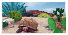 Desert Tortoise Hand Towel