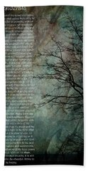 Desiderata Of Happiness - Vintage Art By Jordan Blackstone Bath Towel by Jordan Blackstone