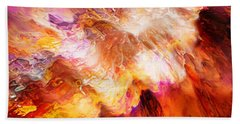Desire - Abstract Art Bath Towel