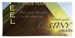Your Destiny Waits Hand Towel