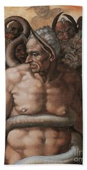 Detail Of The Last Judgment Hand Towel