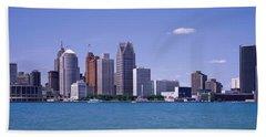 Detroit Mi Usa Bath Towel